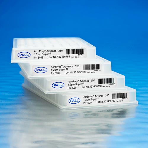 AcroPrep™ Advance 96-Well Filter Plates With Mustang Q/S Ion Exchange Membrane product photo